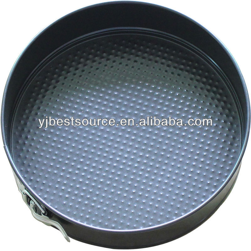 Carbon steel tin non-stick Spring form pan cake mould