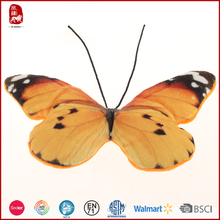 OEM Chian Yangzhou supply cute stuffed animals butterfly toys for cats good quality