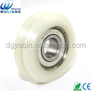 single pulley 608z double pulley Type v belt pulleys for sale aluminium window roller