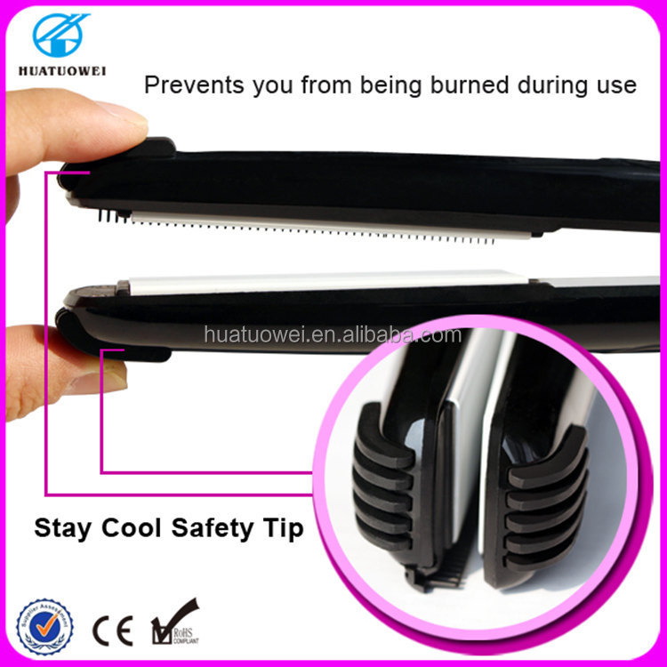 Mini Hair Weaving Tools 220v Ceramic Flat Iron Hair Straightener with Teeth hair styling tools as seen on tv