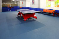 2016 new hot fashion portable pvc vinyl table tennis gymnastic floor,Colorful table tennis rubber floor