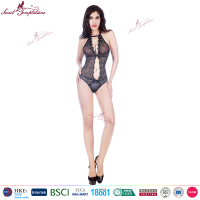wholesale lace fabric open chest teen girls sexy lingerie