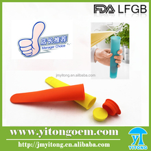 Colorful silicone ice mold maker Popsicle Silicone