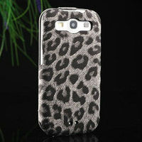 leopard pattern cheap flip cover case for samsung galaxy s3 i9300