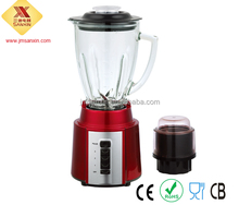 500W 1500ML electric kitchen appliance juice blender with glass jar