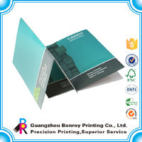 Art paper printing office beautiful file folders wholesale