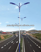 2013 hot sales galvanized street lamp post, led street light / lamp post, street lamp post lights manufactory in china