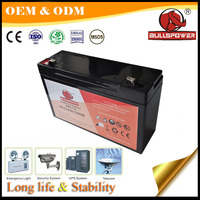 AGM Sealed Lead Acid rechargeable 6V 4ah alarm system battery