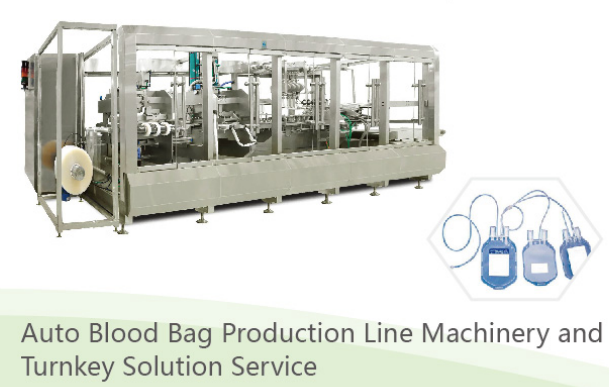 Auto Blood bag set making production line