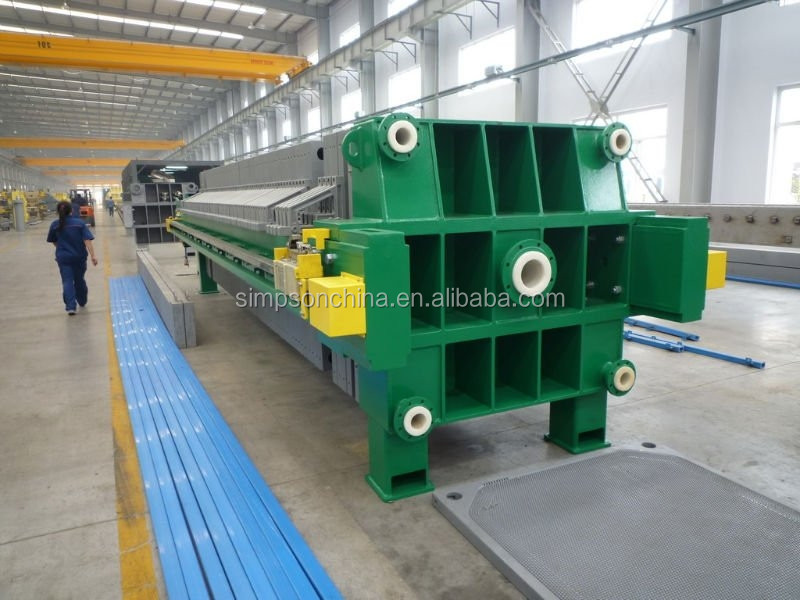 Automatic Membrane Chamber Filter Press, Oil Press Machine,filter press