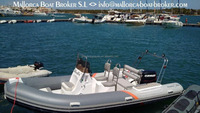 Sport motor rib 520 boat/rigid hull inflatable boat/inflatable yacht tender 520