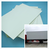 Composite trailer side panel for freezer and refrigerator car form manufacturer