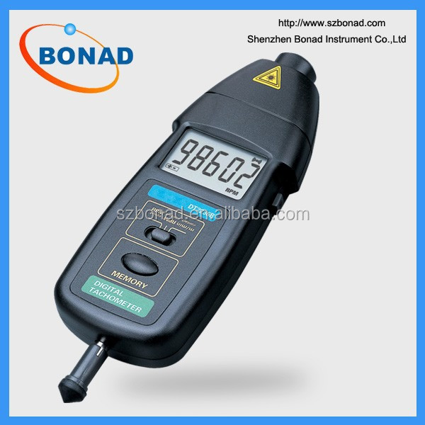 50~500mm Contact Tachometer With High Accuracy Photo Tachometer