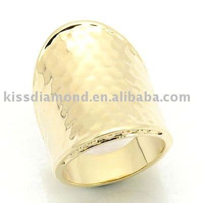 925 Silver 14k gold ring mounting