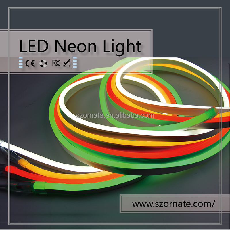 RGB LED Neon Flex 5050 SMD Neon Rope Full Color Changing IP68 Decoration Neon Lighting Sign
