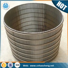 Low price Johnson stainless steel wire wrapped continuous slot water well screen