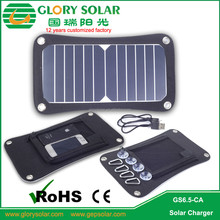 Home Using poly military solar panels charger sunpower cell 6.5W