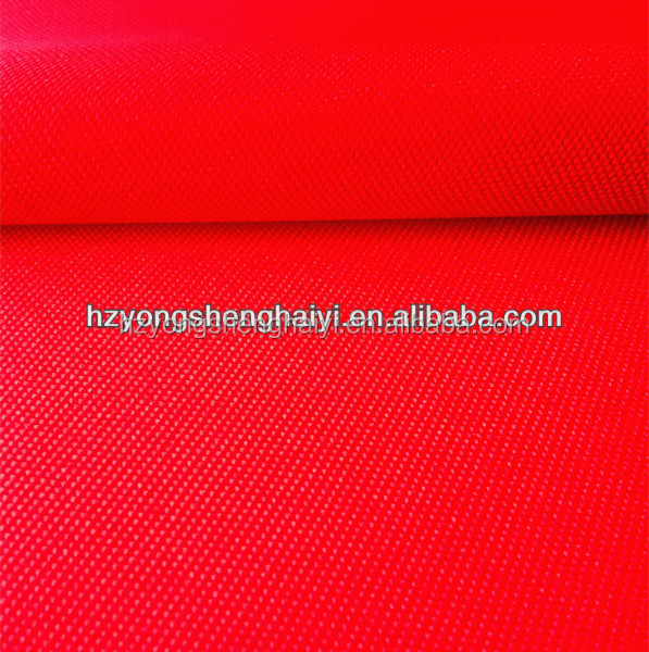 100% polyester oxford fabric 900*900 72T pvc/pu waterproof for luggage bag