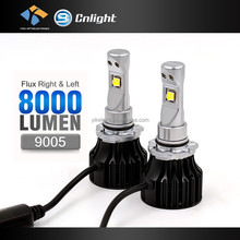 YIKE New Arrival C-REE XHP50 12V 8000lm 5000K toyota vios headlight LED 9005