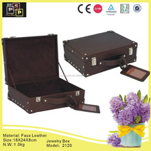 Luggage jewelry trolley case with tag