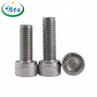 Cup head hexagon socket stainless steel screw