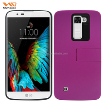 2016 trending products 2 in 1 hybrid case phone cover with kickstand for LG K7 Tribute 5M1