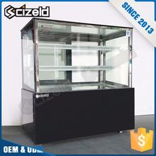 Promotion Product Bakery Pastry Cabinet Front Refrigerator