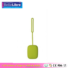 Cute Square Silicone Key Bag