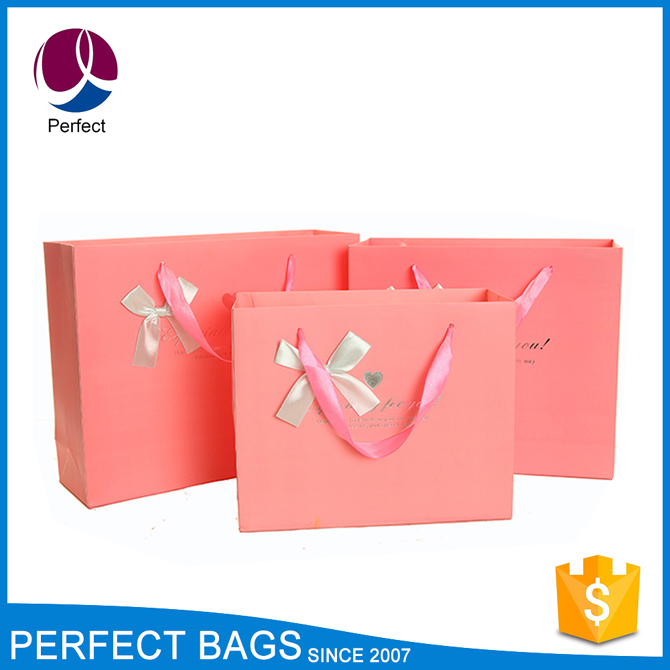 Promotion fancy Christmas paper gift bag