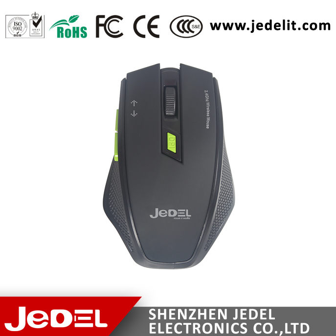 ABS material 2.4G Ergonomics wireless 6d gaming optical mouse for professional gamer