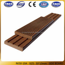 China factory good quality wood plastic composite slats/price/wpc fence