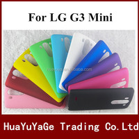 Free shipping phone cases plastic cover Super Frosted Shield hard matte case for LG G3 mini
