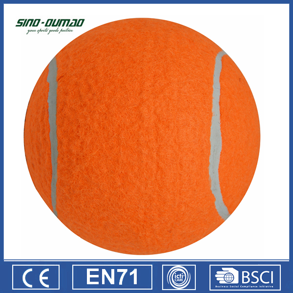 Custom Logo Printed Orange Cheap Tennis Balls Sale