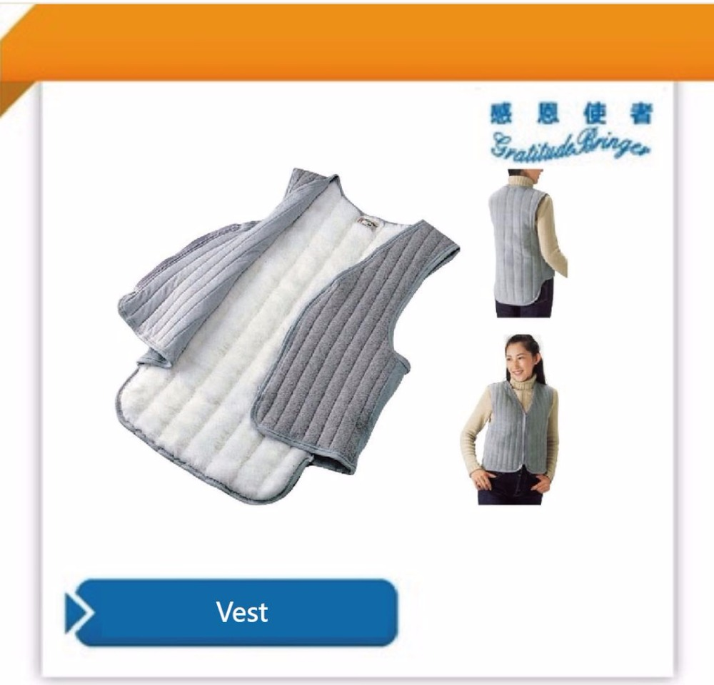 Winter Outdoor Vest made of Warm Cotton