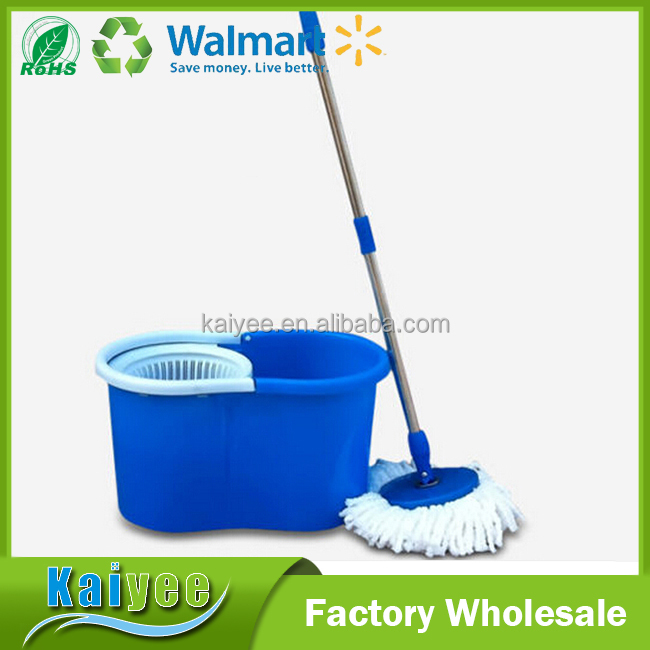 microfiber cleaning mop,hot sale custom blue floor and ceiling cleaning bucket mop