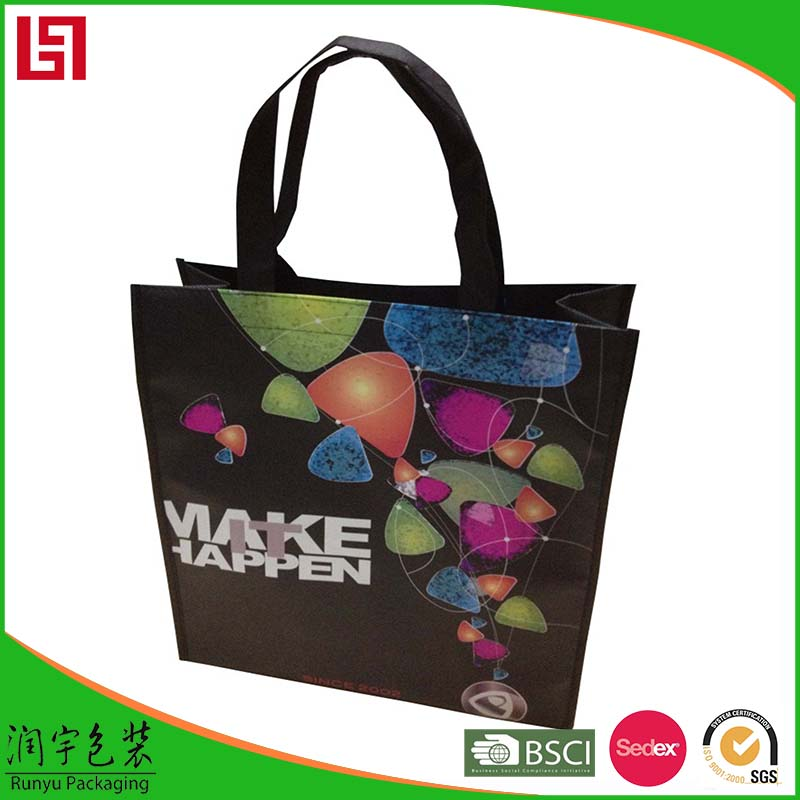 best promotional retail laminated paper shopping bag