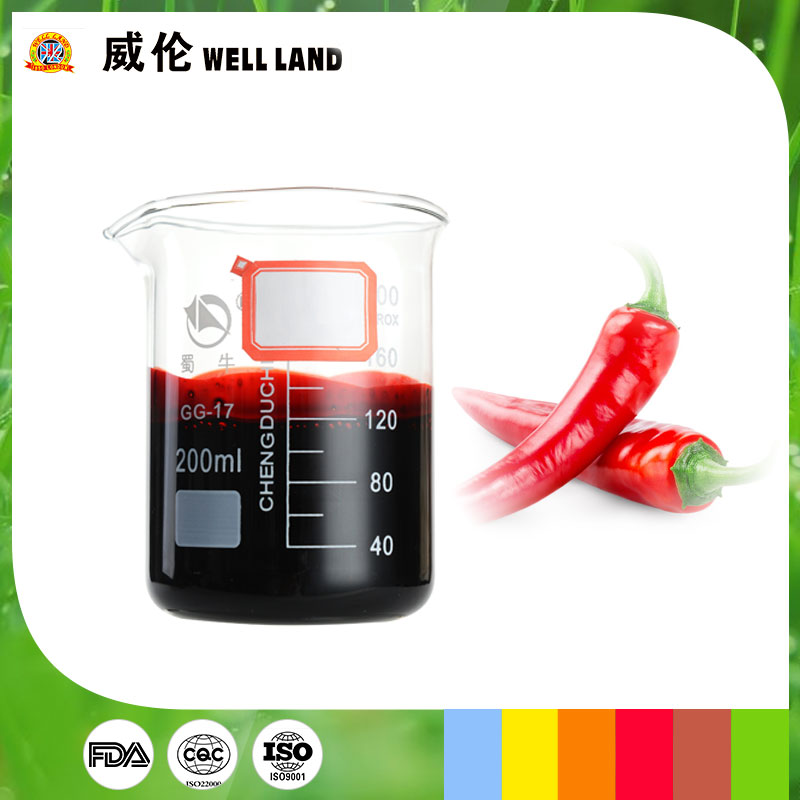 Nature and green red pepper extract oil soluble liquid Capsanthin food color