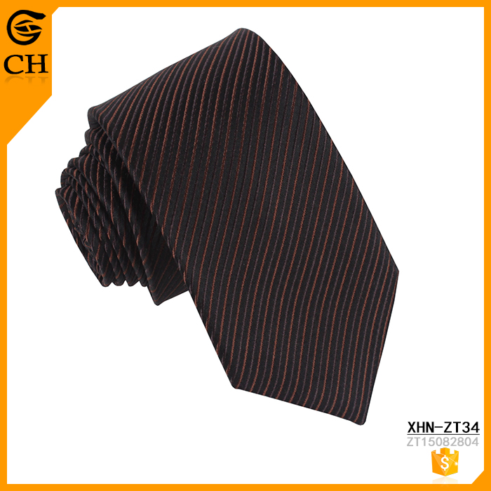 Attractive mens necktie 100% silk neckwear made in china