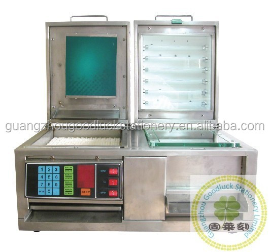 Automatic metal Polymer Rubber Stamp Machine/Stamp Making Machine