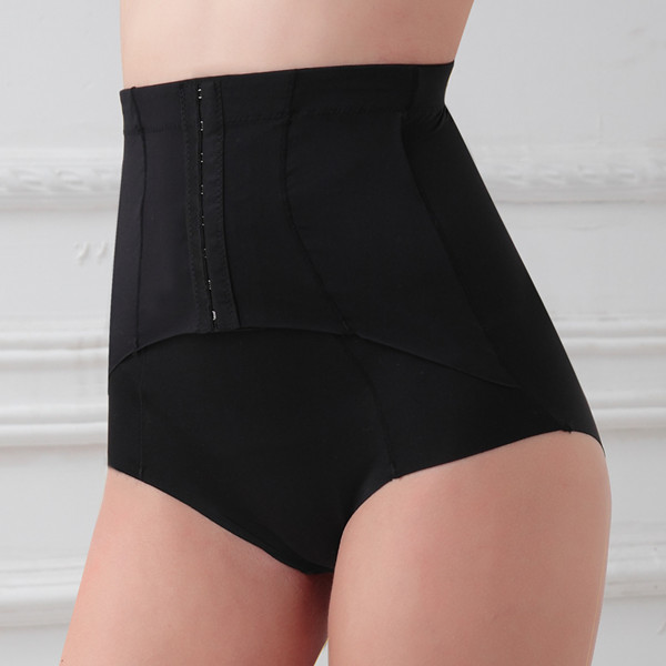 Elastic and plus size high waist slimming body shaper underwear