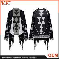 2016 new arrival fashion kimono women cardigan sweater ,cashmere poncho wholesale China