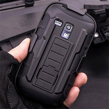 A lot stock Mobile phone hybrid case for Samsung Galaxy S3 MINI i8190
