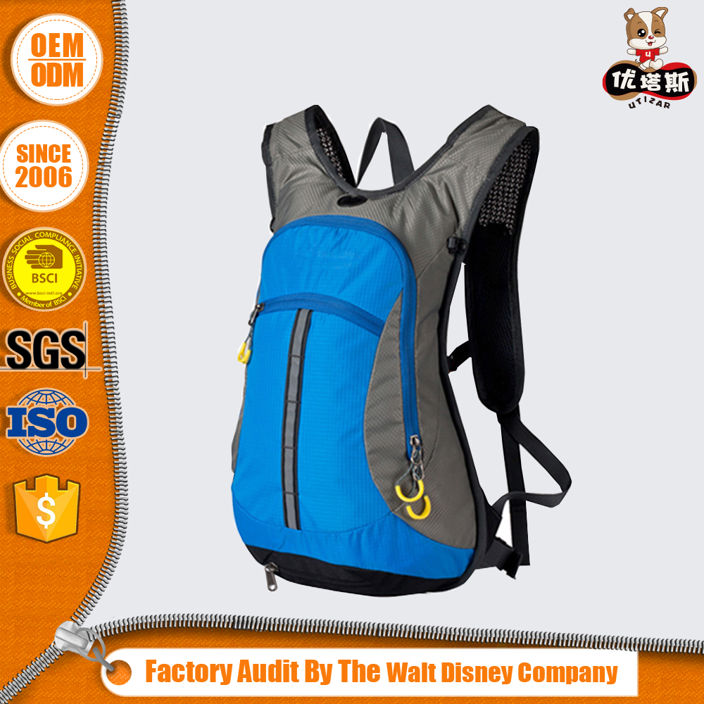 2016 New Style Comfortable Design Oem&Odm Kids Hydration Pack