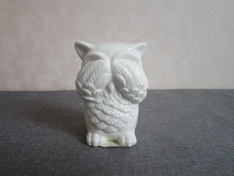 China manufacturer ceramic owl figurine ware for sale