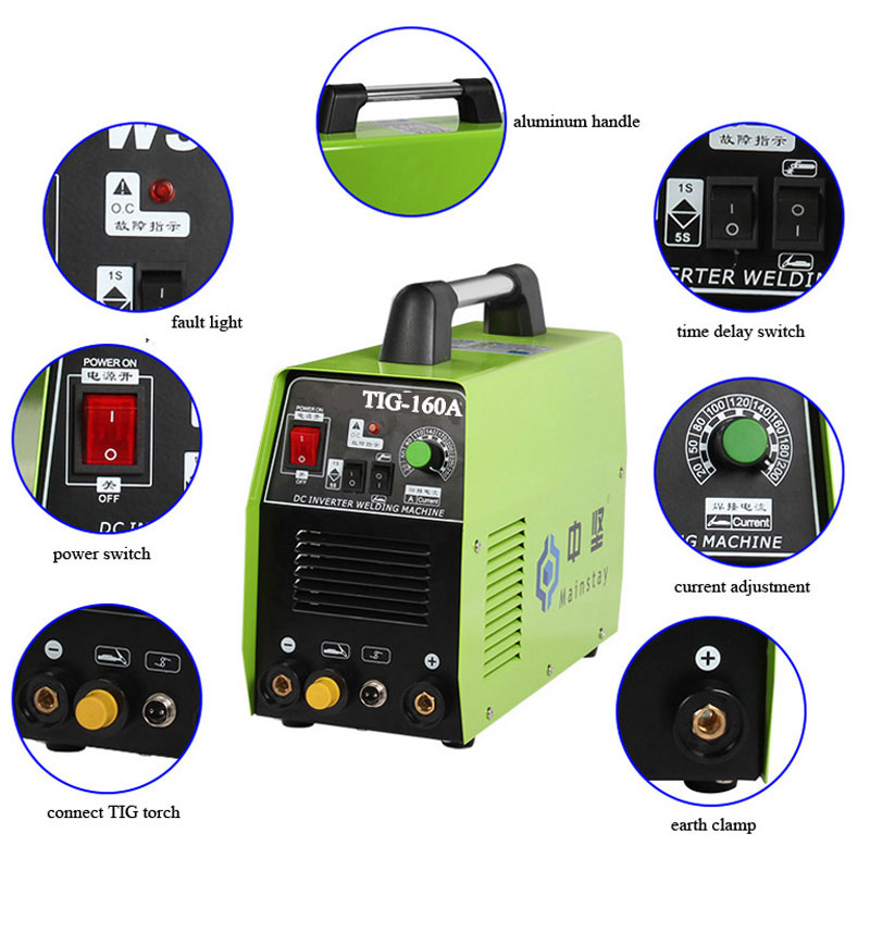 alibaba tradeassurance supplier HOTSALE Argon Welding Machine Price,Argon Gas Welding Machine TIG160A