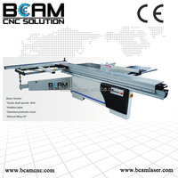 BCAMCNC! woodworking sliding table band saw with high speed