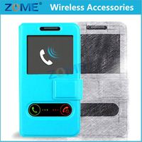 Accept OEM & ODM High Quality Leather Universal Flip Phone Case
