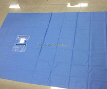 sterile individually packed CE ISO ophthalmic drapes eye surgery use disposable surgical eye sheet