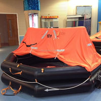 CE Approved Inflatable Life Raft with 20 Person Capacity