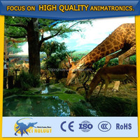 Life size high simulation animal models - Giraffe